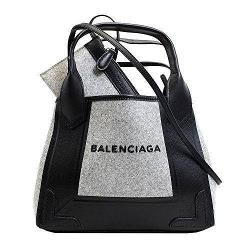 バレンシアガ BALENCIAGA バッグ ショルダーバッグ ハンドバッグ グレー カバ フエルト レディース ブランド 390346-kqr1n-783