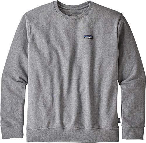 patagonia/パタゴニア : M's P-6 Label Uprisal Crew Sweatshirt : パタゴニア スウェットシャツ : M グレイ