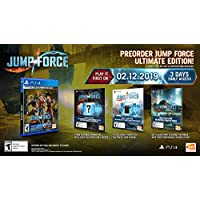 Jump Force: Ultimate Edition - PlayStation 4 - Imported from America.