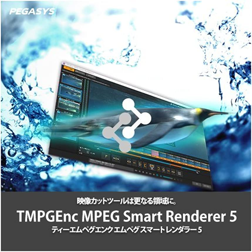 十分にウガンダ鷲TMPGEnc MPEG Smart Renderer 5 [ダウンロード]