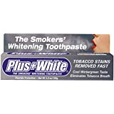 Plus White, The Smokers' Whitening Toothpaste, Cooling Peppermint Flavor, 3.5 oz (100 g)