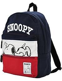 SNOPPY Wファスナー Dパック ネソベリスヌーピー リュック バッグ 立体ロゴ刺繍 スウェット バックパック SPB-645 男女兼用 ag-875500
