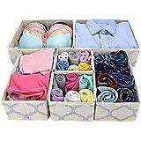 fd52a45b71 Homyfort Cloth Dresser Organizer Drawer Divider