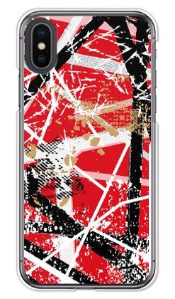 ガールズネオ apple iPhoneX ケース (フランケン レッド) Apple iPhoneX-PC-MIY-0351