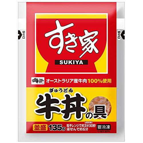 すき家 牛丼の具 135g×5パック