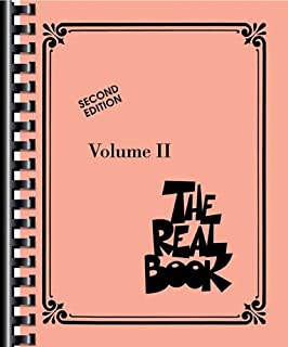 THE REAL BOOK - VOLUME 2 (C INSTRUMENTS) (063406021X) | Amazon price tracker / tracking, Amazon price history charts, Amazon price watches, Amazon price drop alerts