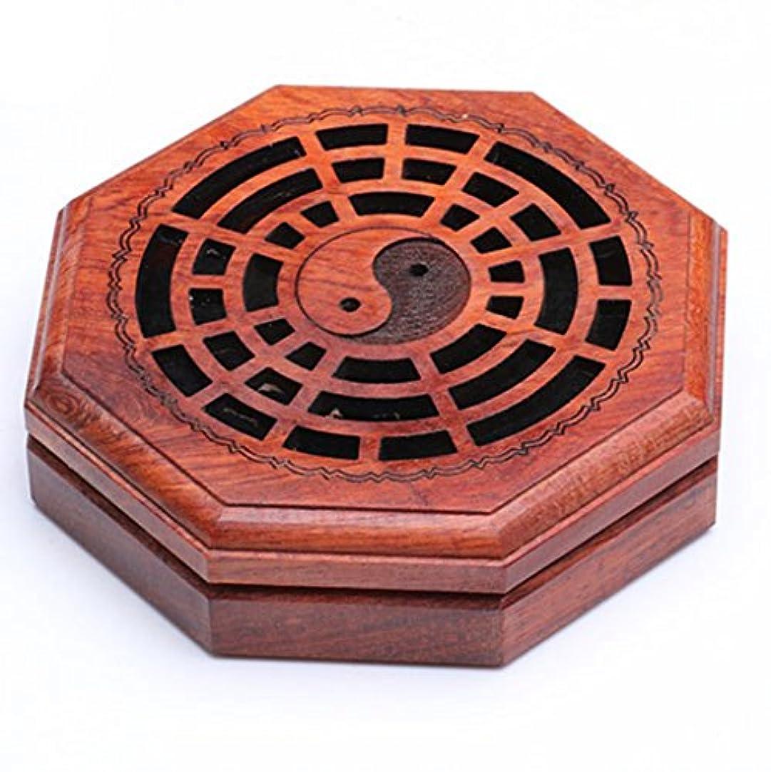 中国不利益家庭(ラシューバー) Lasuiveur 香炉 線香立て 香立て 職人さんの手作り 茶道用品 おしゃれ  木製 透かし彫り