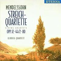 String Quartets by Mendelssohn (2005-10-01)
