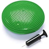 Black Mountain Products Exercise Balance Stability Disc with Hand Pump, Green