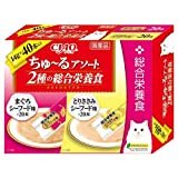 CIAOちゅ~るアソート 2種の総合栄養食 14g×40本 CIAOちゅ~るアソート2種の総合栄養食