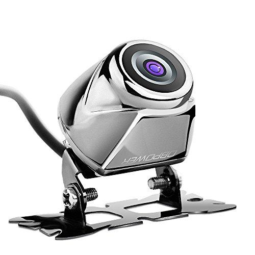 DBPOWER ミニ バックカメラ 高画質CCDセンサー搭載 170度広角 防水等級IP67 角度調整可能 角型 車載カメラ【24ヶ月保証期間】日本語説明書付属