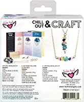Fashion Angels Chill Out & Craft-Mini クリスタルネックレスジュエリーキット アソートカラー