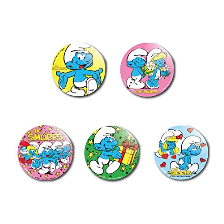 アメリカンキャラクター缶バッチ 5個セット I【並行輸入】