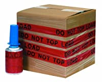 Goodwrappers GOODID5DNTL DO NOT TOP LOAD Identity-Wrap 5 x 80 Gauge x 500' (Pack of 6) [並行輸入品]