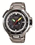 [カシオ] 腕時計 プロトレック MNASURU マナスル 14 Summiter Limited Edition タフムーブメント採用 世界6局対応電波ソーラーアナログウォッチ PWX-8000T-7JR シルバー