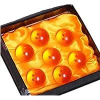 ?ZNU?ドラゴンボール(DRAGON BALL)神龍召喚 水晶 ドラゴン 龍球 7点セット クリスタル 4.5cm コスプレ小道具 箱入り