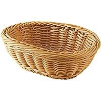 山下工芸(Yamasita craft) 樹脂手編小判バスケット 白 小 59175000