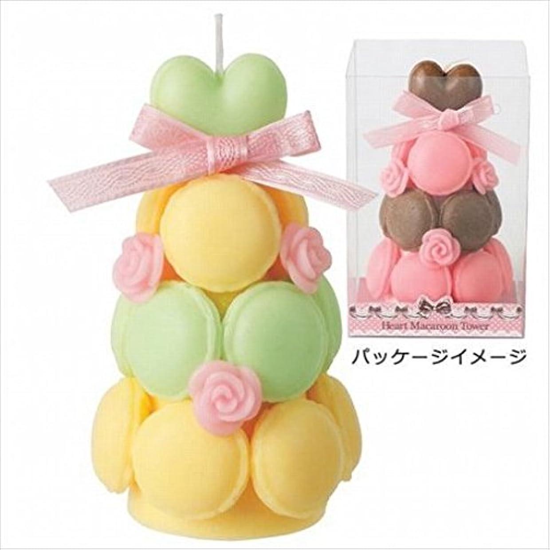 バッフルテレビを見るコンパイルkameyama candle(カメヤマキャンドル) ハートマカロンタワー 「 ミントイエロー 」 キャンドル(A6940520)