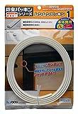 パネフリ工業 隙間防止テープ ムシむしパッキンI (キッチンキャビネット本体側用) 2.1m ホワイト