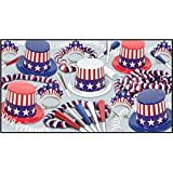 Beistle Spirit Of America Party Favors for 25 People, Assorted [並行輸入品]