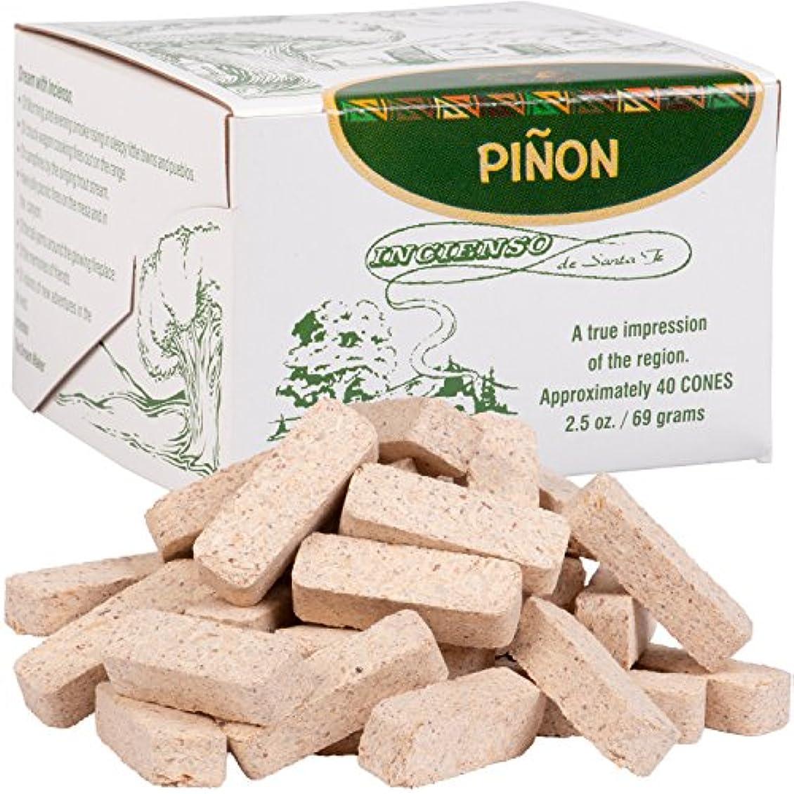 封建水銀のほこりっぽいPinon Incense Box With 40 Bricks