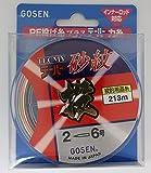 ゴーセン(GOSEN) ライン テクミーテーパー砂紋 4色分け 213m 2-6号 4色分け 42041 GT6224