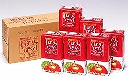 【製造卸・ジャムのことぶき】林檎ジュース・しぼりっぱなし紙パック(1L×6本)