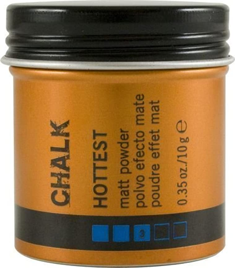 幾分すり減るピザLakme K.Style Chalk Hottest Matt powder 0.35 oz/ 10 g by Lakme