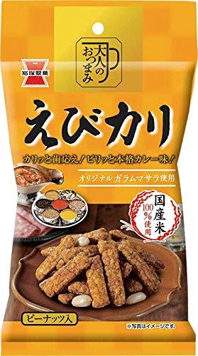 岩塚製菓 大人のおつまみえびカリ 43g×10袋