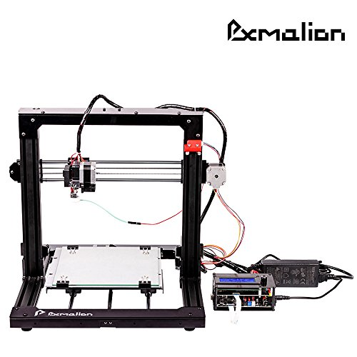 Pxmalion CoreI3 3Dプリンター DIY組み立てキット オートレベリング & フィラメント切れ検出機能付 改良型Reprap Prusa i3 ヒートベッドが標準搭載 日本語取扱説明書&組み立て動画有り テストプリント用PLA40g付き