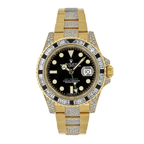 Rolex GMTマスターII automatic-self-wind Male Watch 116758 (認定pre-owned)