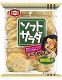 亀田製菓 ソフトサラダガーリック味 18枚×12袋