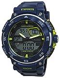CREPHA腕時計t-sportsアナログとデジタル表示10水圧力Navy az-ts-ad047-nvメンズ