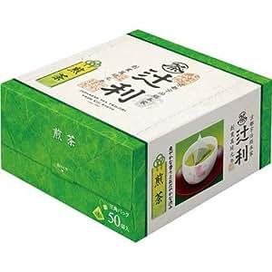 辻利 煎茶 三角ティーバッグ 50P