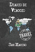 Diario di Viaggio San Marino: 6x9 Diario di viaggio I Taccuino con liste di controllo da compilare I Un regalo perfetto per il tuo viaggio in San Marino e per ogni viaggiatore