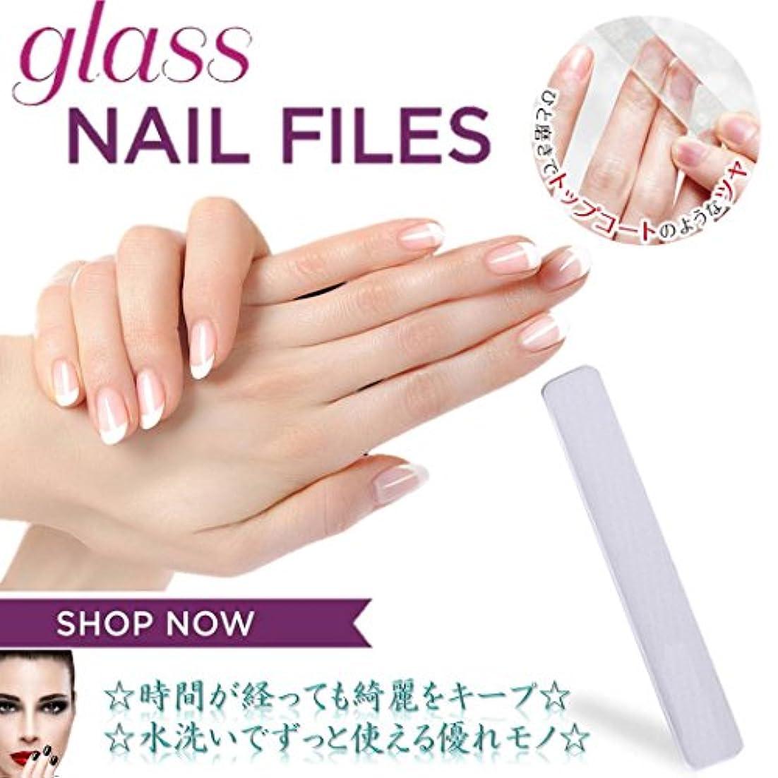 合理的チョップ家主MNoel ガラス爪磨き 韓国ナノテクノロジー ガラス爪やすり 水洗いで何度も使える ツメミガキ ネイルケア用 爪磨きシート ケース付き 男女兼用