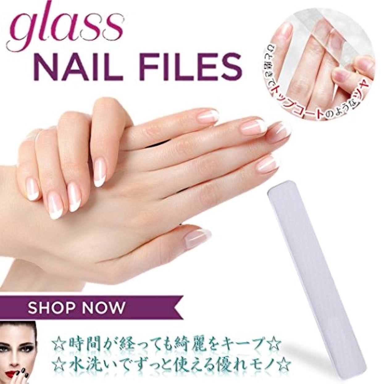 にやにや提供する湾MNoel ガラス爪磨き 韓国ナノテクノロジー ガラス爪やすり 水洗いで何度も使える ツメミガキ ネイルケア用 爪磨きシート ケース付き 男女兼用