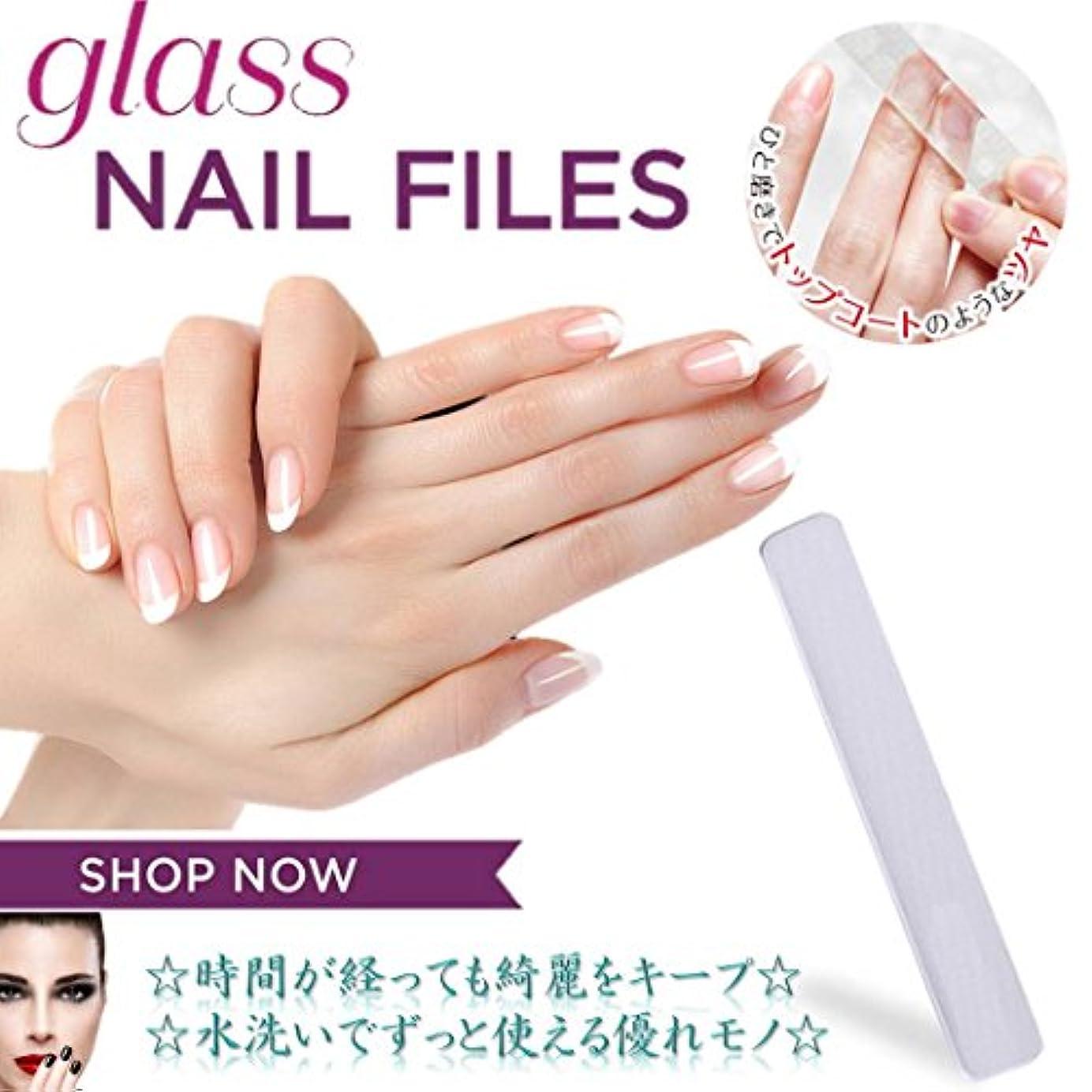 行カナダギャラントリーMNoel ガラス爪磨き 韓国ナノテクノロジー ガラス爪やすり 水洗いで何度も使える ツメミガキ ネイルケア用 爪磨きシート ケース付き 男女兼用