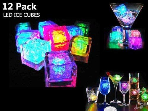 アイスライト キューブアイス キューブライト 光る氷 LED センサーライト 12個セット