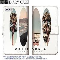 chatte noir Galaxy S8+ ケース Galaxy S8+ カバー ギャラクシー S8 プラス ケース 手帳型 おしゃれ サーフ surf カリフォルニア ビーチ シンプル ロゴ かっこいい B 手帳ケース SUMSUNG