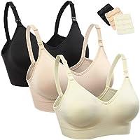 Wingslove 3Pack/1Pack Women's Seamless Nursing Bra Sleep Bralette Maternity&Pregnant