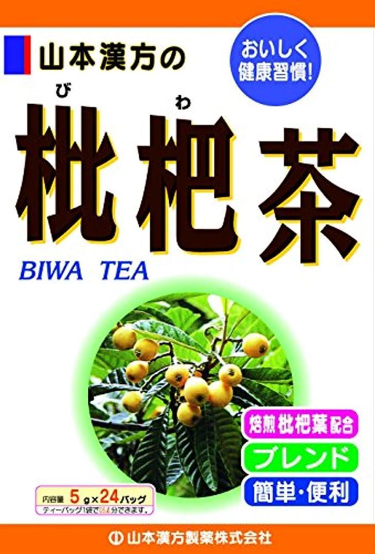 シンカン池巻き戻す山本漢方製薬 枇杷茶 5gX24H