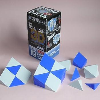 博士のIQデザインパズル<上級>青、グレー バージョン