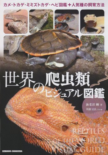 世界の爬虫類ビジュアル図鑑―カメ・トカゲ・ミミズトカゲ・ヘビ図鑑+人気種の飼育方法の詳細を見る
