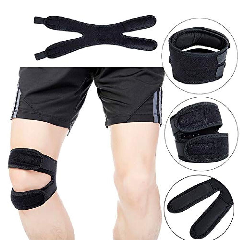 Aylincoolスポーツ膝パッド、スポーツ膝パッド、膝プロテクター、子供用膝プロテクター、膝プロテクター、幼児用膝プロテクター、スポーツサイクリング用の調節可能な通気性サポートパッド