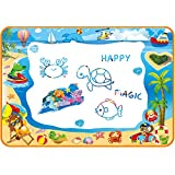 Water Doodle Mat for Toddler - Aqua Magic Mat Provides Hours of Fun - Perfect Magic Water Drawing Mat for Girls Age 3-4 - Exc