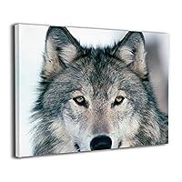 ウルフ 狼 オオカミ 絵画 装飾絵画 アートパネル インテリア絵画 ポスター ウォールアート 壁掛け 部屋 装飾 壁絵 アート おしゃれ フレームレス装飾 額縁なし