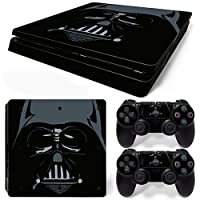 FriendlyTomato PS4 Slim Console and DualShock 4 Controller Skin Set - Star Warrior - PlayStation 4 Vinyl [並行輸入品]