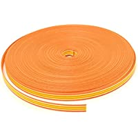 紺屋商事  C3 /5 クラフトバンド(紙バンド) 12本  50m オレンジサンシャイン RAP00003035