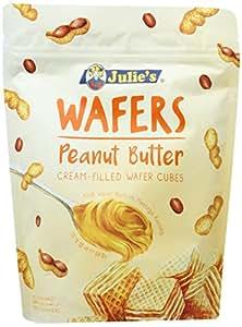 ジュリーズ キューブウエハースピーナッツバター袋 150g